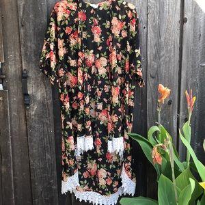 LA HEARTS Boho Kimono NWOT 🌻
